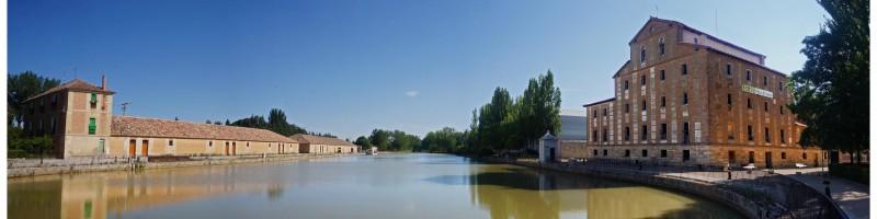Canal de Castella. Medina de Rioseco
